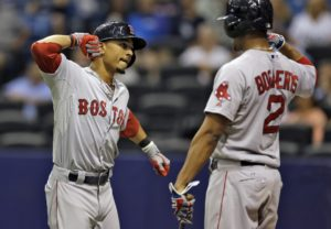 Mookie Betts and Xander Bogaerts will play a big role in this run for the postseason.