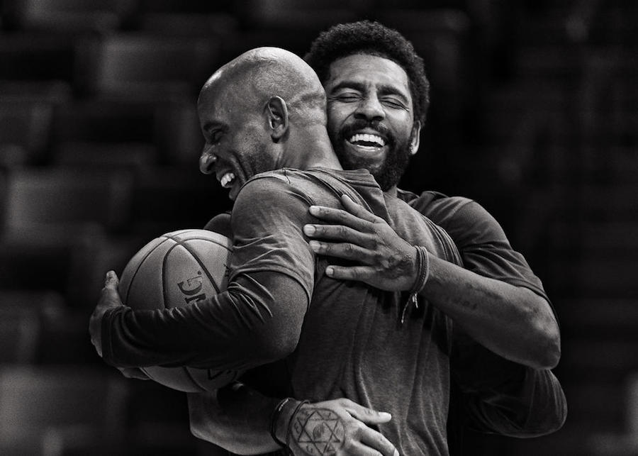 6813164b5862 Kyrie Irving Plays One-On-One Against His Dad In New Nike Ad ...
